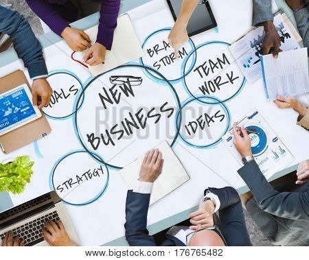 Merchandising Business Plan Strategy Bubbles