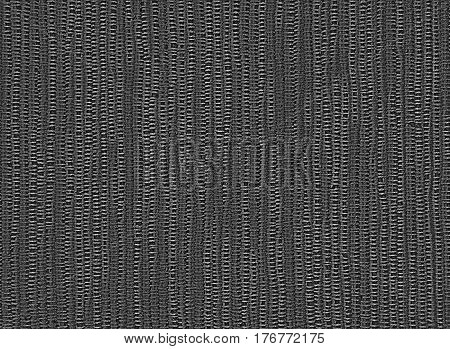 Dark background of linen napkin, cotton cloth coarse weave. Backdrop photographed in close-up. Rustic, retro style.