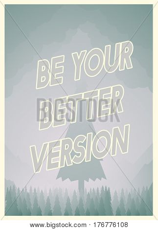 Be Your Better Version Graphic