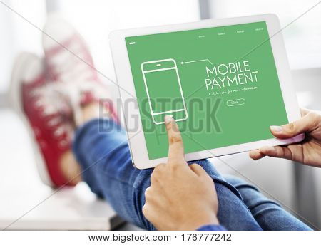 Mobile Payment Apps Message Webpage