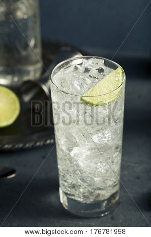 Alcoholic Vodka Tonic Highball Cocktail
