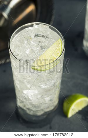 Alcoholic Vodka Tonic Highball Cocktail