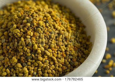 Raw Organic Yellow Bee Pollen