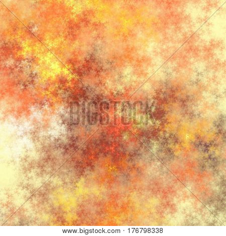 Colored fractal pattern for background or texture