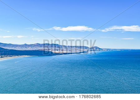Rada Tilly Aerial View Landscape Scene