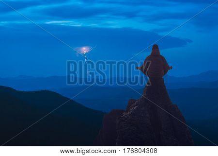 Lightning In A Carpathians 1