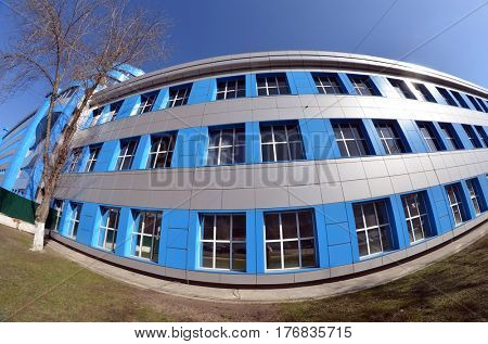 Pharmaceutical factory Pharmack in Kiev.March 17 ,2017 in Kiev, Ukraine
