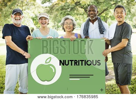 Organic Natural Healthy Nutritions Lifestyle