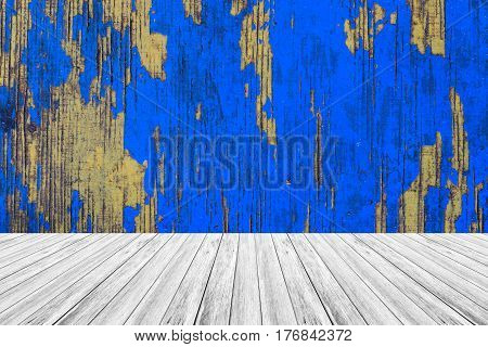 Wood Terrace And Wood Texture