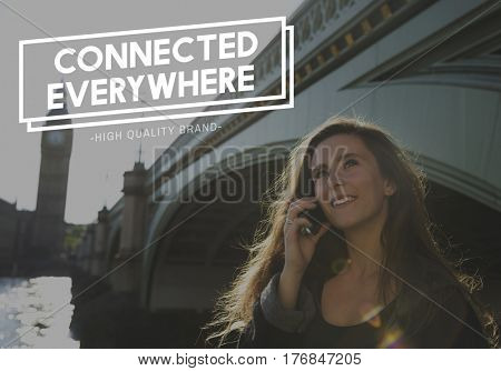 Communication Connection Online Technology Community Word