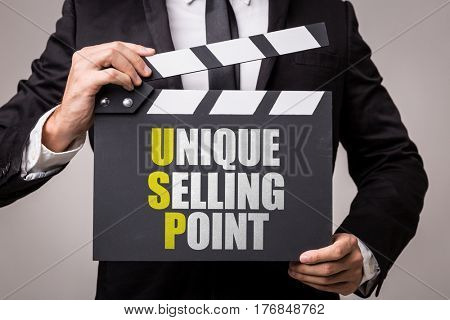 USP - Unique Selling Point poster