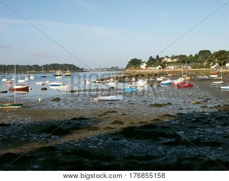 The Department of Morbihan in brittany in france