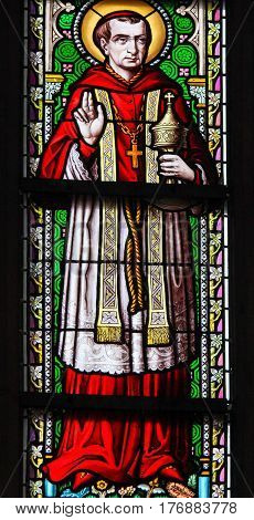 Stained Glass - Saint Carolus