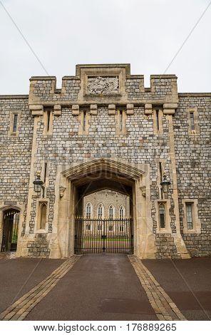 Details on Windsor Castle in Windsor England
