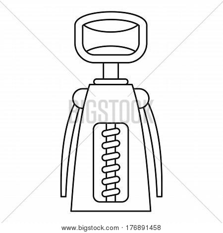 Tool for opening bottles icon. Outline illustration of tool for opening bottles vector icon for web