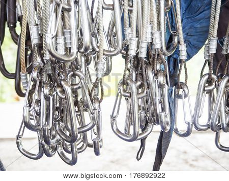 Zip line safety tool, equipment, hook , object