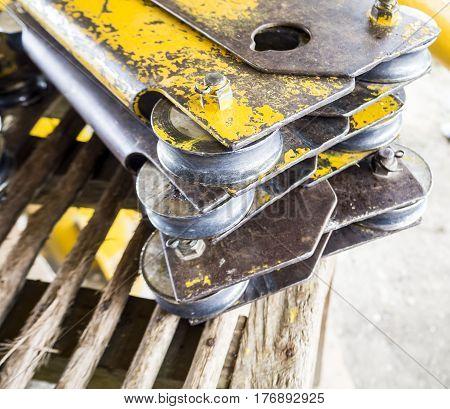Zip line safety tool, equipment , steel