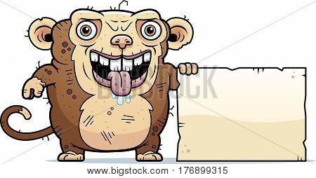 Ugly Monkey Sign