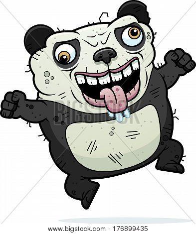 Crazy Ugly Panda