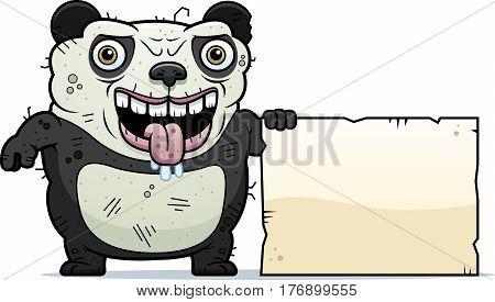 Ugly Panda Sign