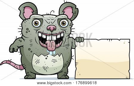 Ugly Rat Sign
