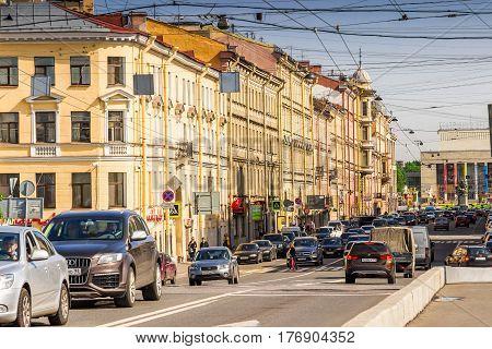 Streets In Saint Petersburg