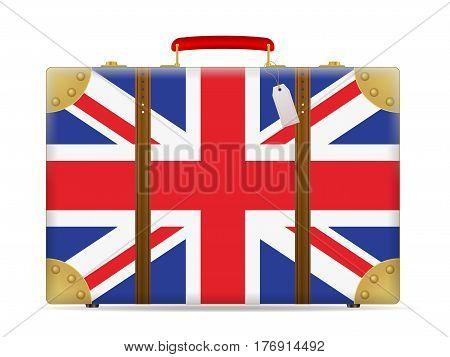 Uk Flag Travel Suitcase