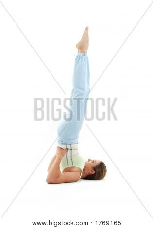 Salamba Sarvangasana Supported Shoulderstand