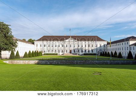 The famous Bellevue castle in Berlin, Germany