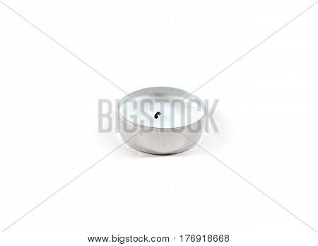 Tea Candle Isolated