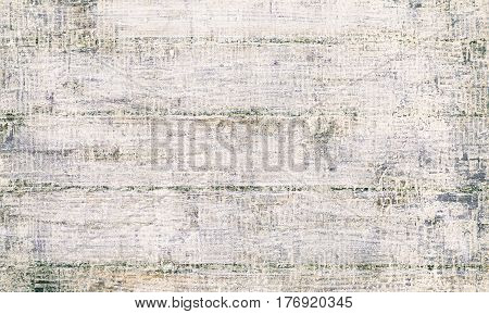Mixed Media Creative White Grungy Background or Texture