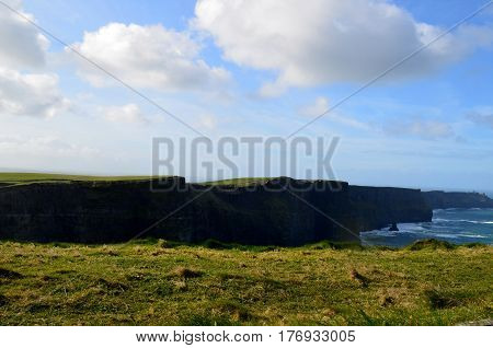 Beautiful Cliff's of Moher in County Clare Ireland.