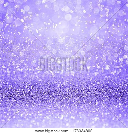 Abstract lavender purple glitter sparkle confetti background for happy birthday invite, girl princess party, lilac childrens flyer, girly pattern, Easter poster, Spring, wedding or Christmas texture
