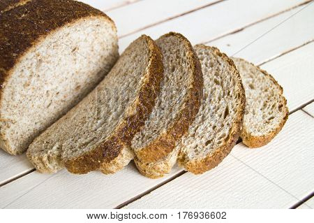 Whole wheat healthy bread, bran bread, turkish bran bread, pictures of bread in different concepts,
