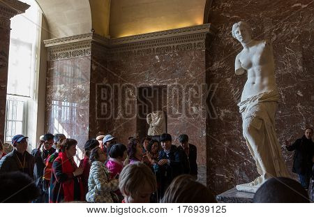 Venus Of Milo, The Louvre, Paris, France