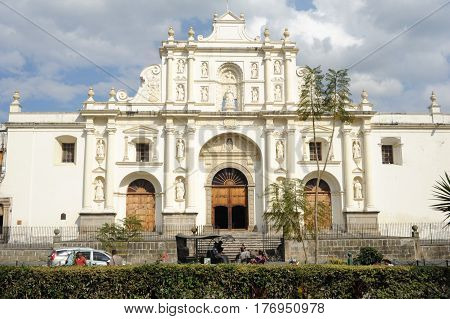 The Cathedral Of Antigua