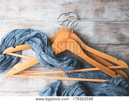 Wooden Clothes Hangers. What To Wear