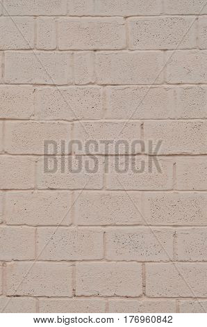 Weathered And Stained Colored Beige Block Wall Texture