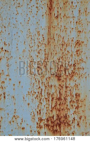 Rusty Metal Texture With Scratched Surface