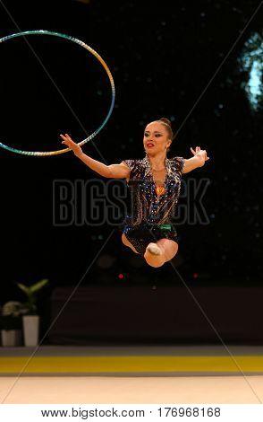 Rhytmic Gymnastics Grand Prix In Kiev, Ukraine