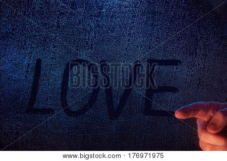 Hand Draw Love Word