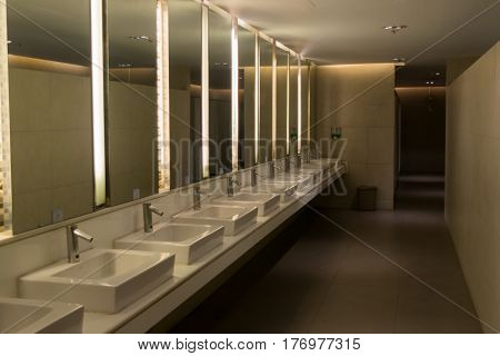 toilet of Men's bathroom and Toilet bowl
