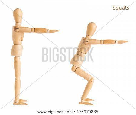 Squats Pose
