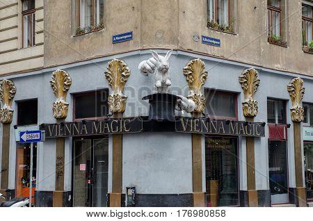 Vienna Magic Store At Viennas Street