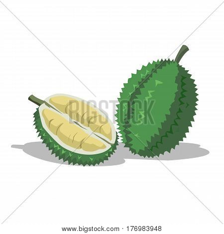 Durian is a delicious fruit. Coconut water has a strong smell.