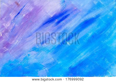 blue and purple diagonal beautiful painted texture background