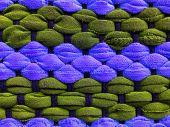 texture of color Foot Wipes doormat industrial poster