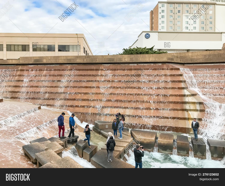 Water Gardens Downtown Image Photo Free Trial Bigstock