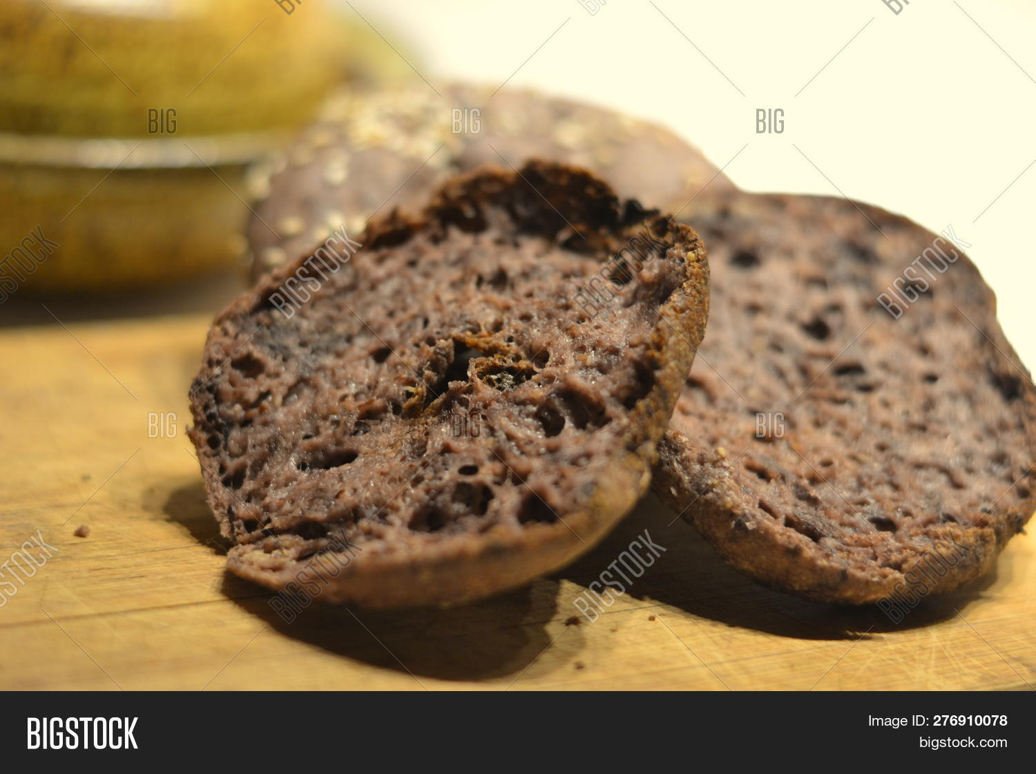Vegan Bagel Made Using Image & Photo (Free Trial) | Bigstock