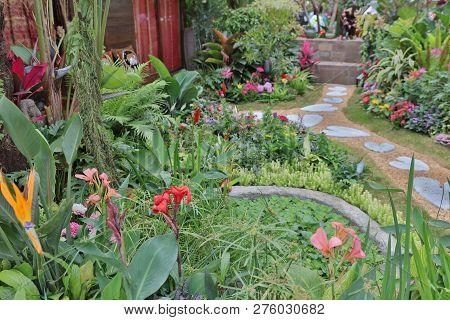 A Flower Show Hong Kong At Victoria Park